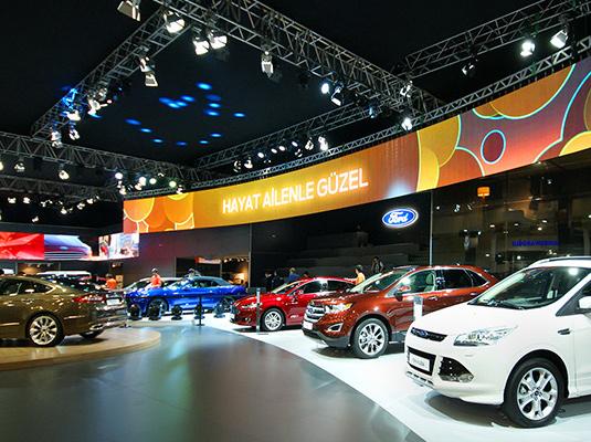 Car Exhibition Stand Design : Mero design modüler parçalar ile sıradışı yapılar